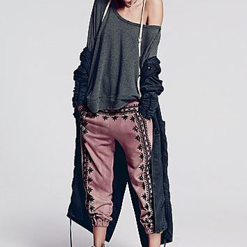 Free People Womens FP ONE Three Wishes Sweatpants