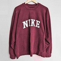 NIKE Fashion Casual Long Sleeve Sport Top Sweater Pullover Sweatshirt From ZUZU