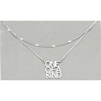 """""""One Of A Kind"""" Layered Necklace"""