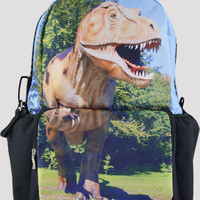 Cool Dinosaur Print Large Backpack