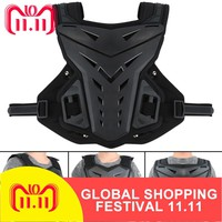 5 Colors Motorcycles Motocross Chest Back Protector Armour Vest Racing Protective Body-Guard MX armor ATV Guards Race