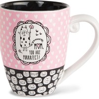 Mom, you are purrrfect! Coffee Mug