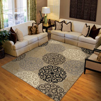 "Walmart: Orian Harbridge Woven Olefin Fleece Area Rug, 5'3"" x 7'6"""