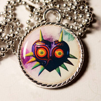 The Legend of Zelda Majora's Mask Gamer Cameo Necklace