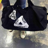 Palace New Fashion Women And Men Shoulder Bag handbag Travel bag Black