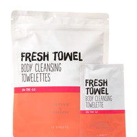 FRESH TOWELBody Cleansing Towelettes