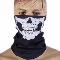 Unisex Skull Multi Bandana Bike Motorcycle Scarf Face Mask CS Ski Headwear Neck party masks halloween mask motorcycle mask skull