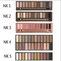 NK 1/2/3/4/5 12 Colors Eye Shadow With Pen [9710180239]