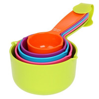Kitchen Measuring Spoons Measuring Cups Spoon Cup Baking Utensil Set Kit Measuring Tools 173-07-00423 (Size: 0, Color: Multicolor)