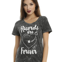 Records Are Forever Girls T-Shirt