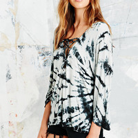 Ecote Romeo Lace Up Top - Urban Outfitters