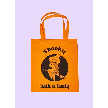 Spooky With A Booty Tote