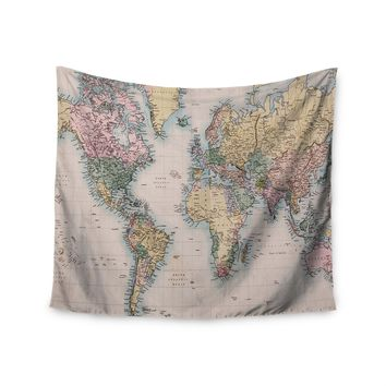 """""""Travel The World"""" Wall Tapestry"""