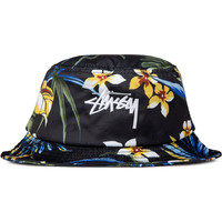 Stussy Black Paradise Bucket Hat