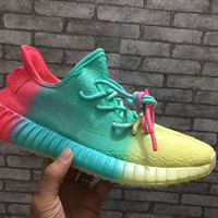Adidas Yeezy Boost 350 Colorful Men Women Running Sport Shoes