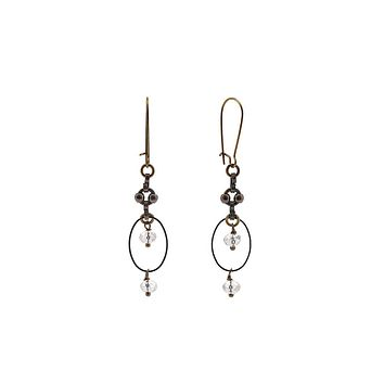 Vintage Chain Connector Earrings