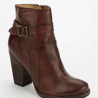 Frye Patty Heeled Ankle Boot- Maroon
