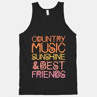 Country Music, Sunshine and Best Friends   HUMAN