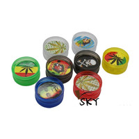 $0 Just pay shipping 2 Rasta Grinders (Not intended for drug use)