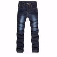 Slim Stretch Long Casual Jeans