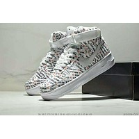 Nike Air Force 1 Just Do It AF1 Classic Joker High Top Sports Shoes
