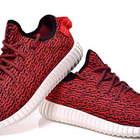 2016 Yeezy Boost 350 Fashion Kanye West Outdoor Sports Shoes Red Yeezy 350 Boosts with Original Box Yeezy Boosts 350 Sale