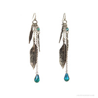 Fortune's Feather Earrings