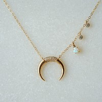 Horn Necklace