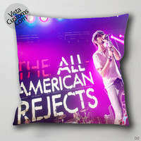 the all american rejects perform Pillow Case, Chusion Cover ( 1 or 2 Side Print With Size 16, 18, 20, 26, 30, 36 inch )