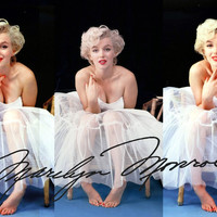 Marilyn Monroe Poster Sticker For Home Decoration