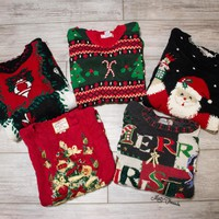'-Mystery Ugly Christmas Sweaters