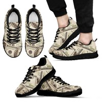 Love of Money Mens Custom Printed Shoes Express Line (14 days or less)