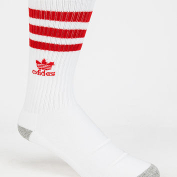 Adidas Originals Roller Mens Crew Socks White One Size For Men 26566815001