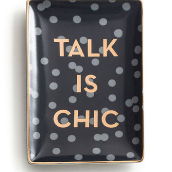 Talk Is Chic Accent Tray