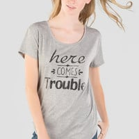 Trouble Graphic Tee