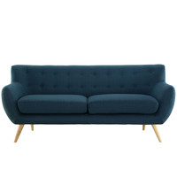 Remark Sofa in Azure