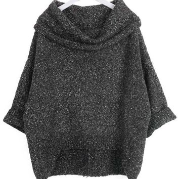 Cupshe Living After Midnight Off the Shoulder Sweater