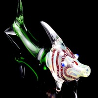 Color Changing Glass Fish Pipe - AP216