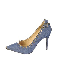 Women's Studded High Heel Mandi-07