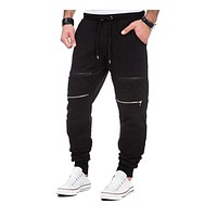 Men Thick Sweatpants Winter Warm Joggers Fleece Lined Baggy Long Sweat Pants Casual Hip Hop Trousers gyms-clothing