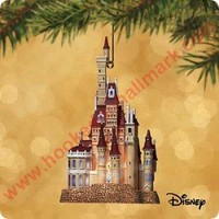 2002 Castle in the Forest, Disney's Beauty and the Beast Hallmark Ornament