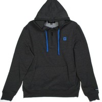 Zoo York Pacsun Exclusive Pullover Hoodie with Zip (Medium, Charcoal)