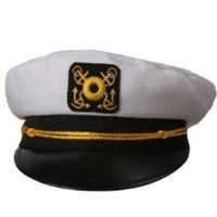 Captains Boat Yachting Yacht Sailing Fishing Hat Cap by Rhode Island Novelty at the Best Buy Shop