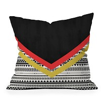 Allyson Johnson Mixed Aztec 2 Throw Pillow
