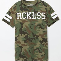 Young & Reckless Coalition T-Shirt - Mens Tee - Camo