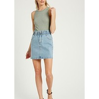 ELLA DENIM SKIRT