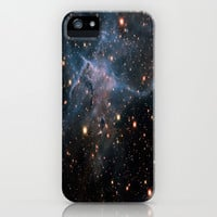 Mystic Mountain Nebula iPhone & iPod Case by SuzanneCarter