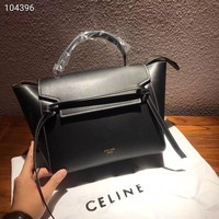 Celine Women Fashion Leather Satchel Bag Shoulder Bag Handbag 3