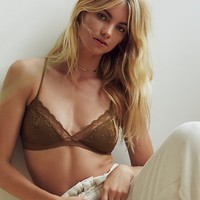 Free People Raspberry Bralette