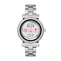 Michael Kors Access Sofie Silvertone Touchscreen Smart Watch